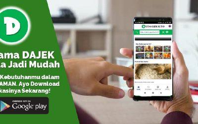 DAJEK, Aplikasi Ojek Online Anak Nagari